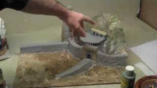 how-to-make-a-paper-mache-diorama-helms-deep.wmv