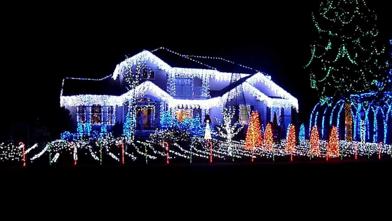 2011 absecon new jersey sooy lane christmas lights youtube