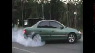 Opel Omega MV6 3,0 V6 aceleration 7,1 sec!! 0-100