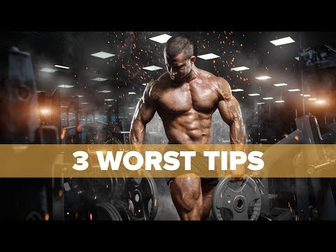 The Three Worst Bodybuilding Tips Ever | Tiger Fitness