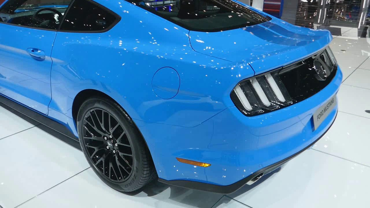 Ford Mustang GT - Blue Edition - YouTube