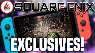 Square Enix Bringing More Exclusives To Switch! Special New Division