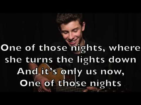 Shawn Mendes - One of Those Nights Karaoke Cover Backing Track + Lyrics Acoustic Instrumental