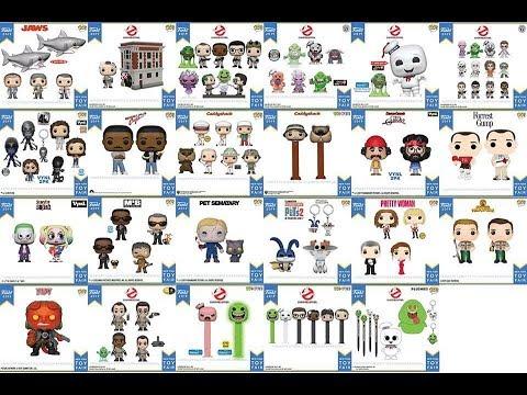 Funko Pop New York Toy Fair 2019 Complete Catalog Reveal