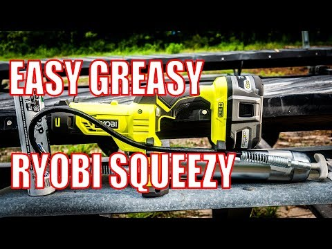 Make Greasing Easy Again - Ryobi P3410 18V Grease Gun