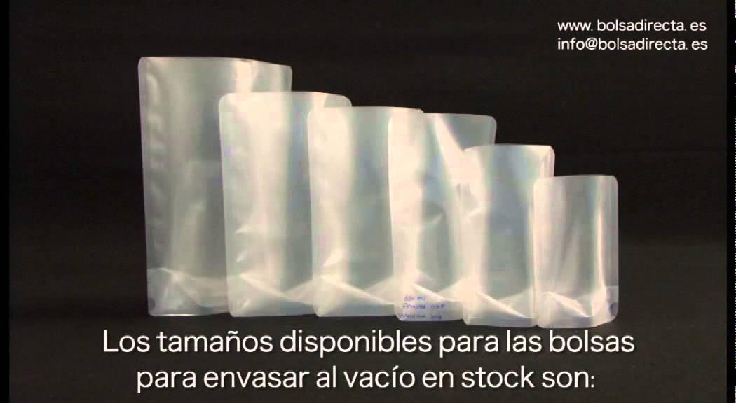 bolsas para envasar al vac o en stock youtube