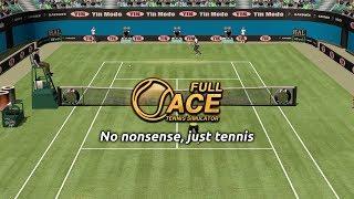 Full Ace Tennis Simulator Launch Trailer