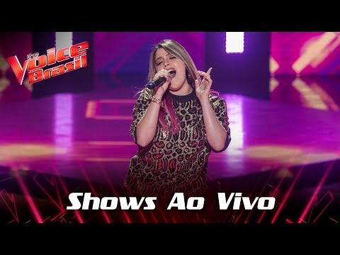 Isa Guerra canta Paga de Solteiro nos Shows Ao Vivo - The Voice Brasil  7ª Temporada