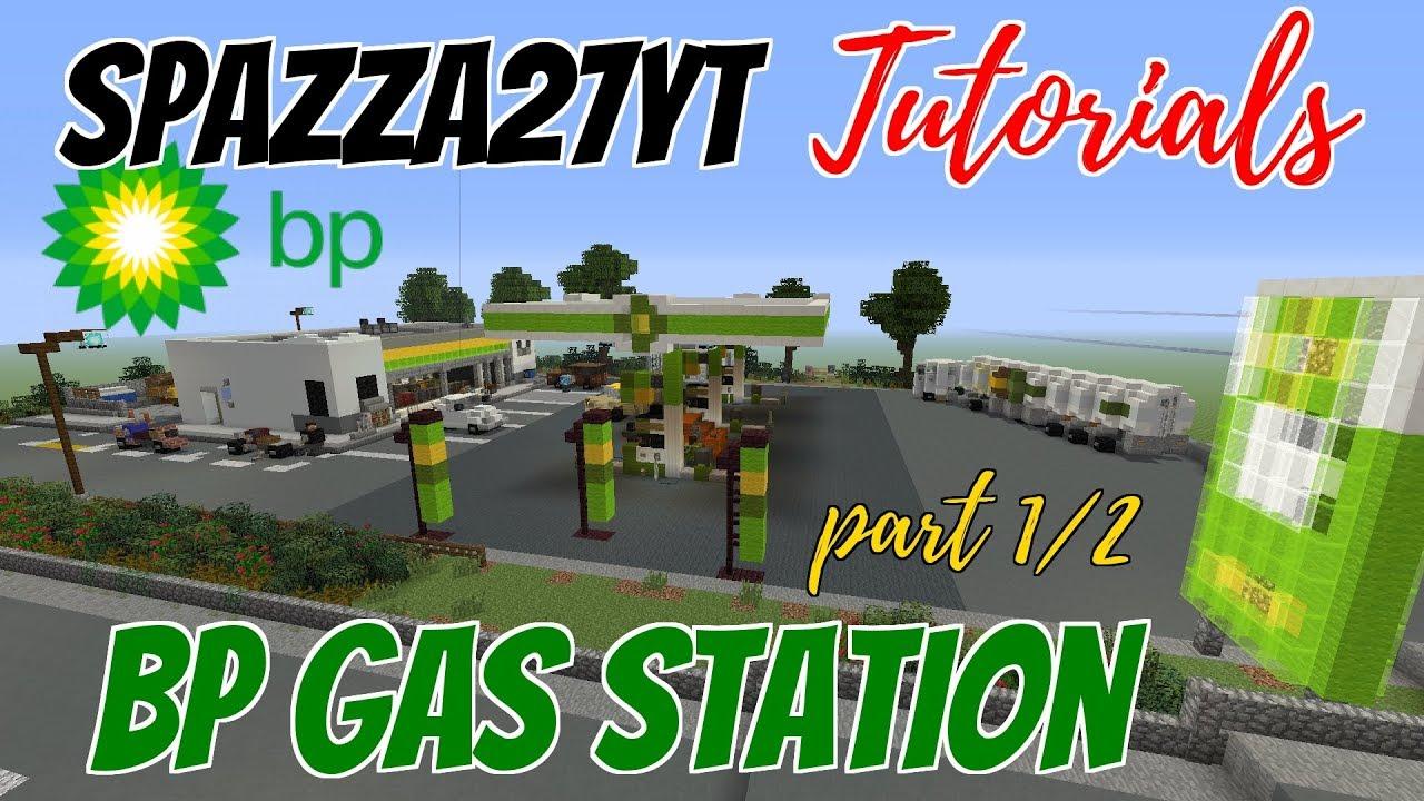 Minecraft BP Gas Station part 1/2 Tutorial