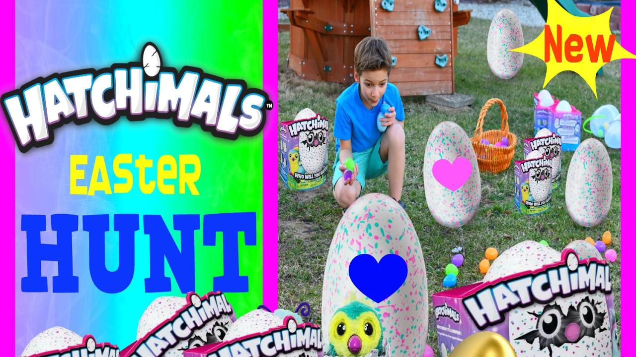 Hatchimals Giant Easter Egg Hunt Dream Colleggtible