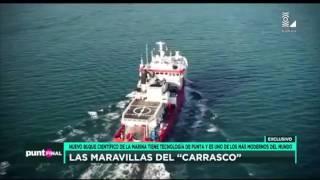 """Las maravillas del """"Carrasco"""" el nuevo buque científico de la Marina de Guerra del Perú"""