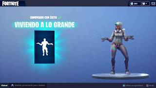 Fortnite that skin stays for the dance LIVING BIG