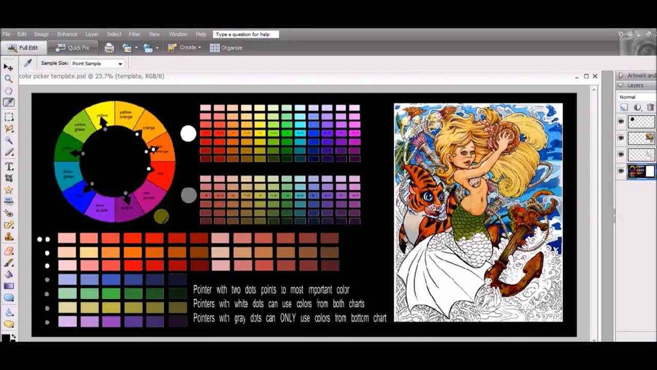 How to Choose a Color Palette - YouTube