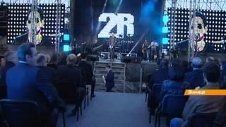 В Виннице снова открылся крупнейший в Европе светомузыкальный фонтан в воде(Все главные новости мира и Украины здесь: http://fakty.ictv.ua/ua Подписывайтесь на канал: http://www.youtube.com/channel/UCG26bSkEjJc7SqGsxo..., 2014-04-28T09:19:22.000Z)