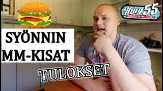Hampurilaisen syönnin MM-kisat | TULOKSET