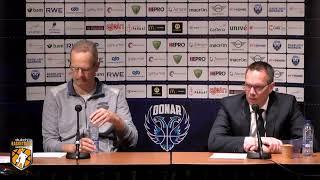 Persconferentie  Donar vs ZZ Leiden 160419