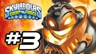 Skylanders Swap Force Gameplay Walkthrough - Part 3 - FIRE BREATH!! (Skylanders Gameplay HD)