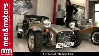 A History of Caterham Cars