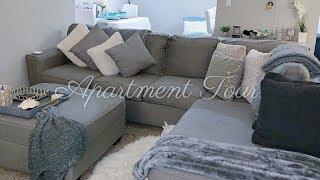 My 2019 Realistic Apartment Tour | Online Decor + Item Links | NC | Daquana White