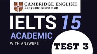Cambridge 15 IELTS Listening Test - 3 2020 | Practice free listening test here | Celsius Educations