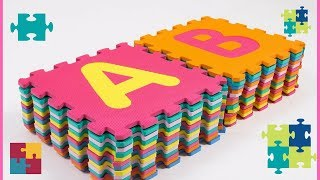 ABC FLOOR PUZZLE | THE PERFECT FOAM PLAY MAT | LEARNING THE ABCs |M...