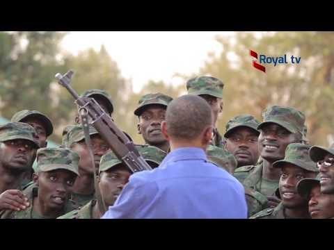 Paul Kagame asoza itorero Indangamirwa