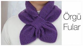 how to knitting scarf/best model of knitting scarf/kitting for beginners/Figen Ararat