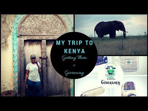 WORK TRAVEL | My Trip to Kenya! VLOG 1 of 5 (Giveaway Details)