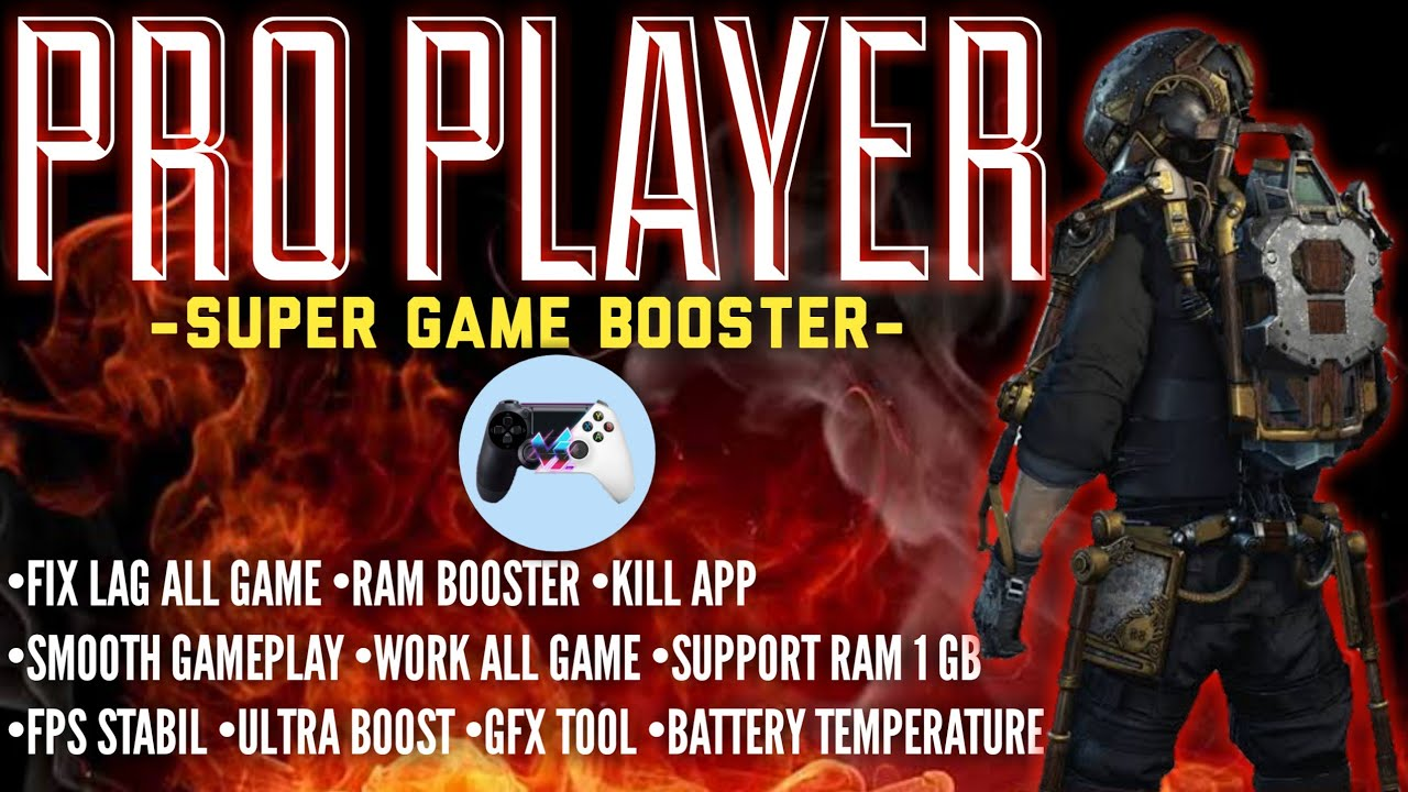 GAME BOOSTER BEST PRO PLAYER SET,WORK ALL GAME