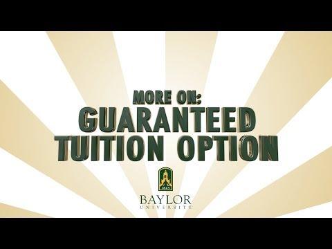 More On: Guaranteed Tuition Option