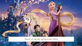 Tangled OST - Mother knows best (reprise) - with Lyrics HD