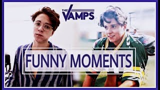 THE VAMPS - Funny Moments