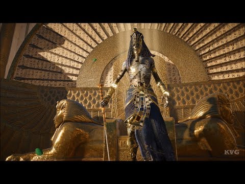 Assassin's Creed Origins: The Curse of the Pharaohs - Akhenaten - Boss Fight | Gameplay HD |