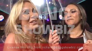 How To Be Single London Premiere - Danielle Armstrong & Kate Wright Interview