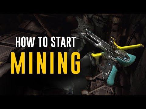 Mining 1.0: How to Start Mining! [Plains of Eidolon] (Warframe)