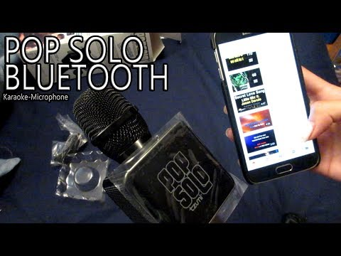 POP SOLO Bluetooth Karaoke Microphone Review