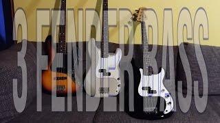Baixar FENDER Jazz Bass vs. Precision vs. PJ