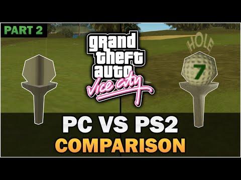 GTA Vice City - PS2 VS PC [Part 2] [In-depth Comparison]