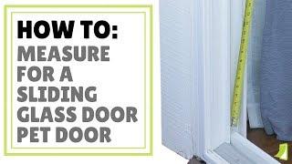 ideal fast fit patio panel pet door