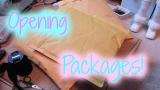 Opening American Girl + Etsy Packages!