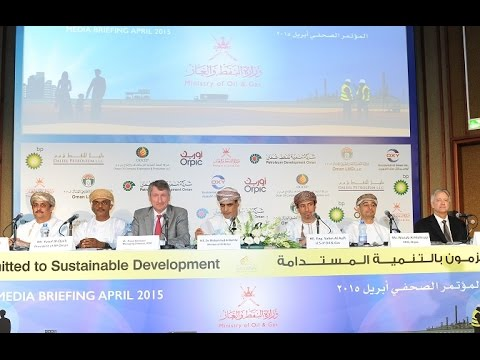 Q&A Session - Media Briefing by Ministry of Oil & Gas Oman in April 2015