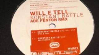 Will E Tell - Konstant Battle (Original Mix) Wet013 (2001)
