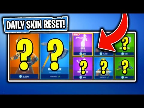 BRAND NEW EMOTE! Daily Item Shop In Fortnite: Battle Royale! (Skin Reset #159)