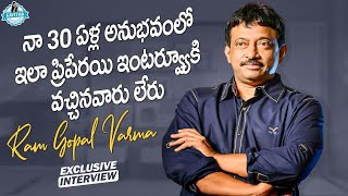 First Time In My 30 Years Of Experience Gave This Kind Of Interview | RGV Latest | JournalistKavitha