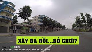 Nhà đất KDC nhà phố thương mại UNI-TOWN, Trần Quốc Toản, Hòa Phú, TP Mới Bình Dương - Land Go Now ✔