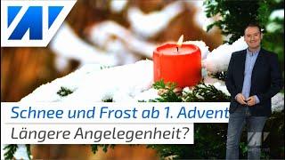Winter mit Schnee und Polarluft ab dem 1. Advent: Eintagsfliege oder längere Angelegenheit?