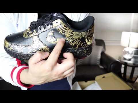 Nike ID Air force 1 low , Unboxingsnkrheadnyc gear & jimmy
