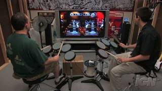 Rock Band (game only) Xbox 360 Gameplay - Drum-Off: Wave
