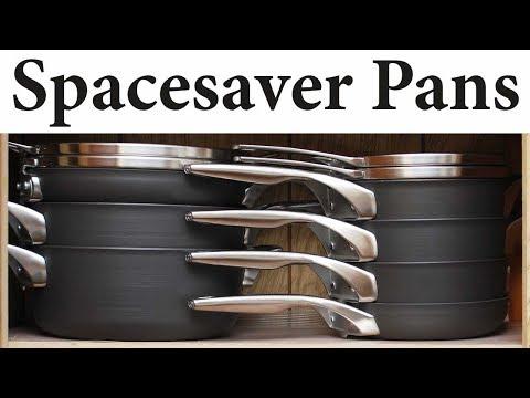 111 - Calphalon space-saving pots and pans