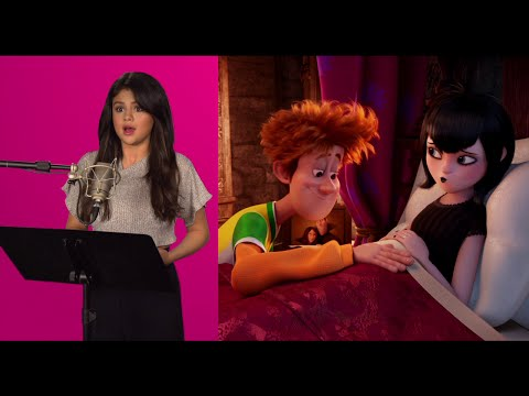 "Hotel Transylvania 2 Behind-The-Scenes Film Matchups - Selena Gomez, Andy Samberg, Kevin James: Hotel Transylvania 2 behind-the-scenes film and voice recording matchups with Selena Gomez, Andy Samberg, Kevin James, David Spade, Keegan-Michael Key, Fran Drescher, Mel Brooks & Steve Buscemi. Watch more Hotel Transylvania 2 trailers & videos ► http://bit.ly/HotelTransylvania2Videos Subscribe for the hottest movie & TV clips, trailers & promos! ► http://bit.ly/FlicksExtrasSubscribe  Subscribe for movie reviews, exclusive interviews & comic con panels ► http://bit.ly/FlicksSubscribe  Mel Brooks joins Adam Sandler, Andy Samberg, Selena Gomez, Kevin James, Steve Buscemi and David Spade in this second instalment of Dracula's holiday hideaway – Hotel Transylvania.  The Drac pack is back for an all-new monster comedy adventure in Sony Pictures Animation's Hotel Transylvania 2!  Everything seems to be changing for the better at Hotel Transylvania...  Dracula's rigid monster-only hotel policy has finally relaxed, opening up its doors to human guests. But behind closed coffins, Drac is worried that his adorable half-human, half-vampire grandson, Dennis, isn't showing signs of being a vampire. So while Mavis is busy visiting her human in-laws with Johnny – and in for a major cultural shock of her own – ""Vampa"" Drac enlists his friends Frank, Murray, Wayne and Griffin to put Dennis through a ""monster-in-training"" boot camp.  But little do they know that Drac's grumpy and very old, old, old school dad Vlad is about to pay a family visit to the hotel.  And when Vlad finds out that his great-grandson is not a pure blood – and humans are now welcome at Hotel Transylvania – things are going to get batty!  Cast: Adam Sandler (Dracula), Andy Samberg (Johnny), Selena Gomez (Mavis), Kevin James (Frank), Fran Drescher (Eunice), Steve Buscemi (Wayne), Molly Shannon (Wanda), David Spade (Griffin), Keegan-Michael Key (Murray) and Mel Brooks (Vlad) Directed by: Genndy Tartakovsky Written by: Robert Smigel"